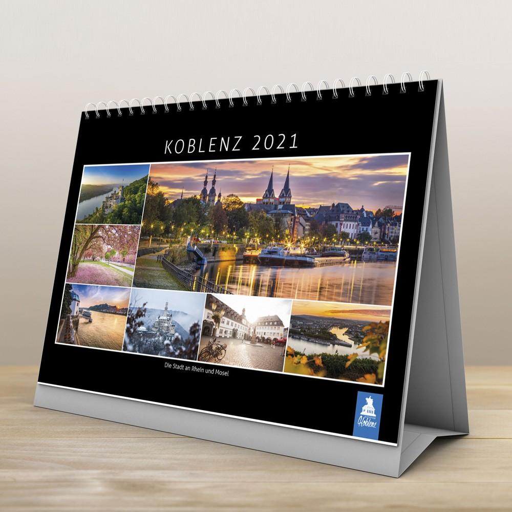 Schönes Koblenz 2021 Tischkalender
