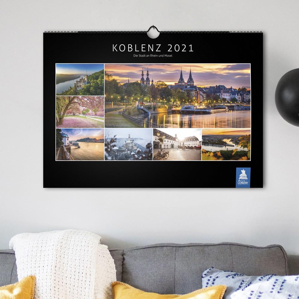 Schönes Koblenz 2021 Wandkalender (DIN A2) - Deckblatt