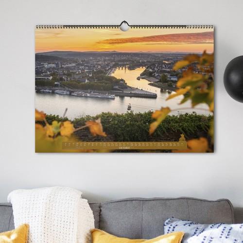 Schönes Koblenz 2021 Wandkalender (DIN A2) - Oktober