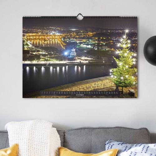 Schönes Koblenz 2021 Wandkalender (DIN A2) - Dezember
